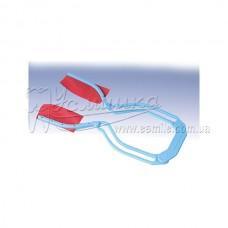 Артикуляційний пінцет Бауша BK143 кутовий пластиковий для фіксації тонкого артикуляційного паперу