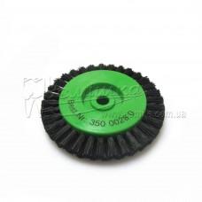 Щітка Чунцин, чорна, гостра ∅ 65 мм, 2 ряди