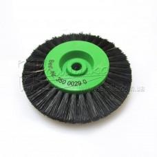 Щітка Чунцин, чорна, гостра ∅ 70 мм, 3 ряди