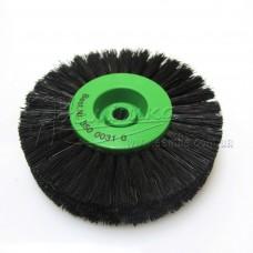 Щітка Чунцин, чорна, пряма ∅ 80 мм, 4 ряди