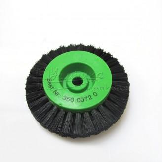 Щітка Чунцин, чорна, пряма ∅ 65 мм, 4 ряди