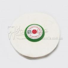Щітка для високоглянцевої поліровки пластмаси ∅ 100 мм 35 шарів