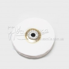 Щітка для високоглянцевої поліровки металу ∅ 60 мм 50 шарів