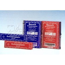 """Артикуляційний папір Bausch BK 11, BK 12 """"Arti-Check ®"""" товщиною 40μ мікрон"""