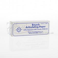 BK 05 - артикуляційний папір 200 мкм синій, блокнот 300 шт